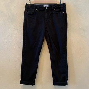 Paige Jeans | Black Kylie Crop | Size 31
